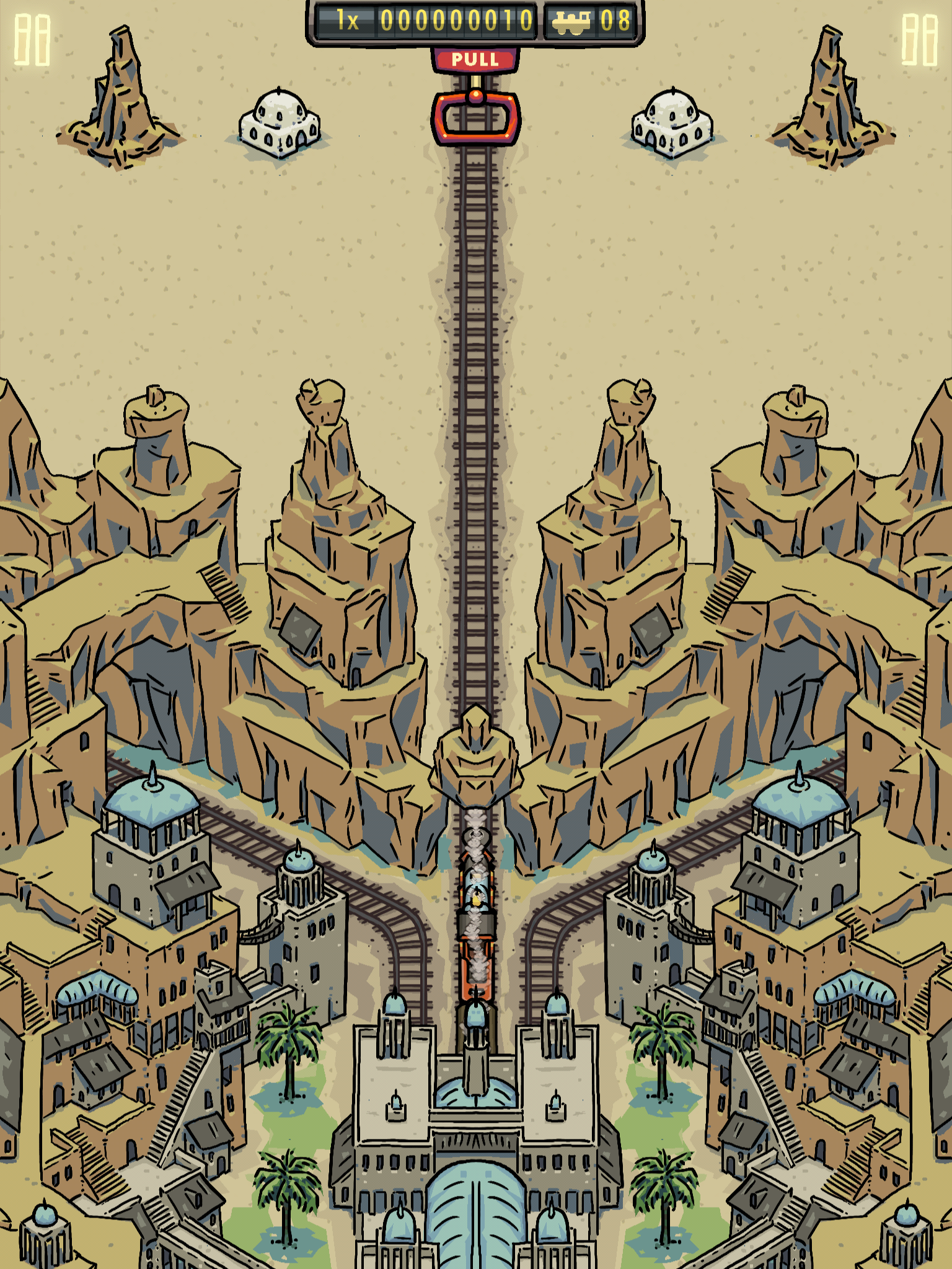 Symmetrain - Leaving Start Station