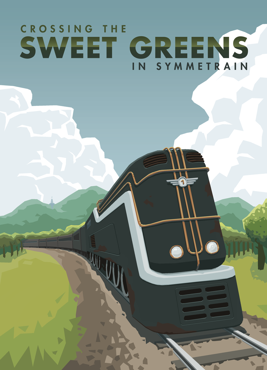 Symmetrain - Sweet Greens