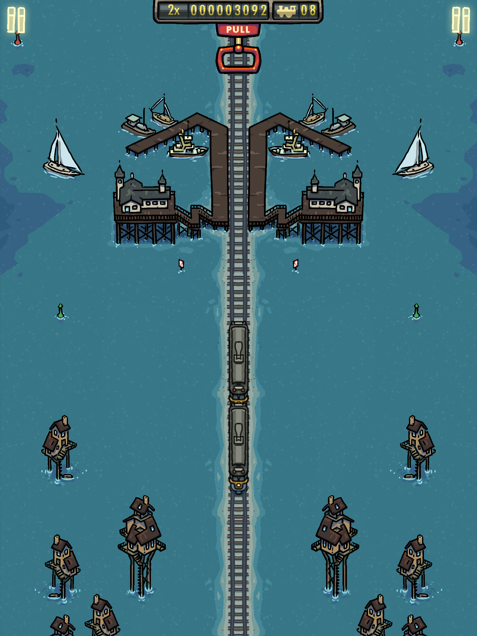 Symmetrain - Small Stilted Station